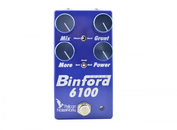 Pelican Noiseworks pedales Binford 6100